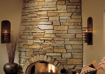 Fireplace Stone Application