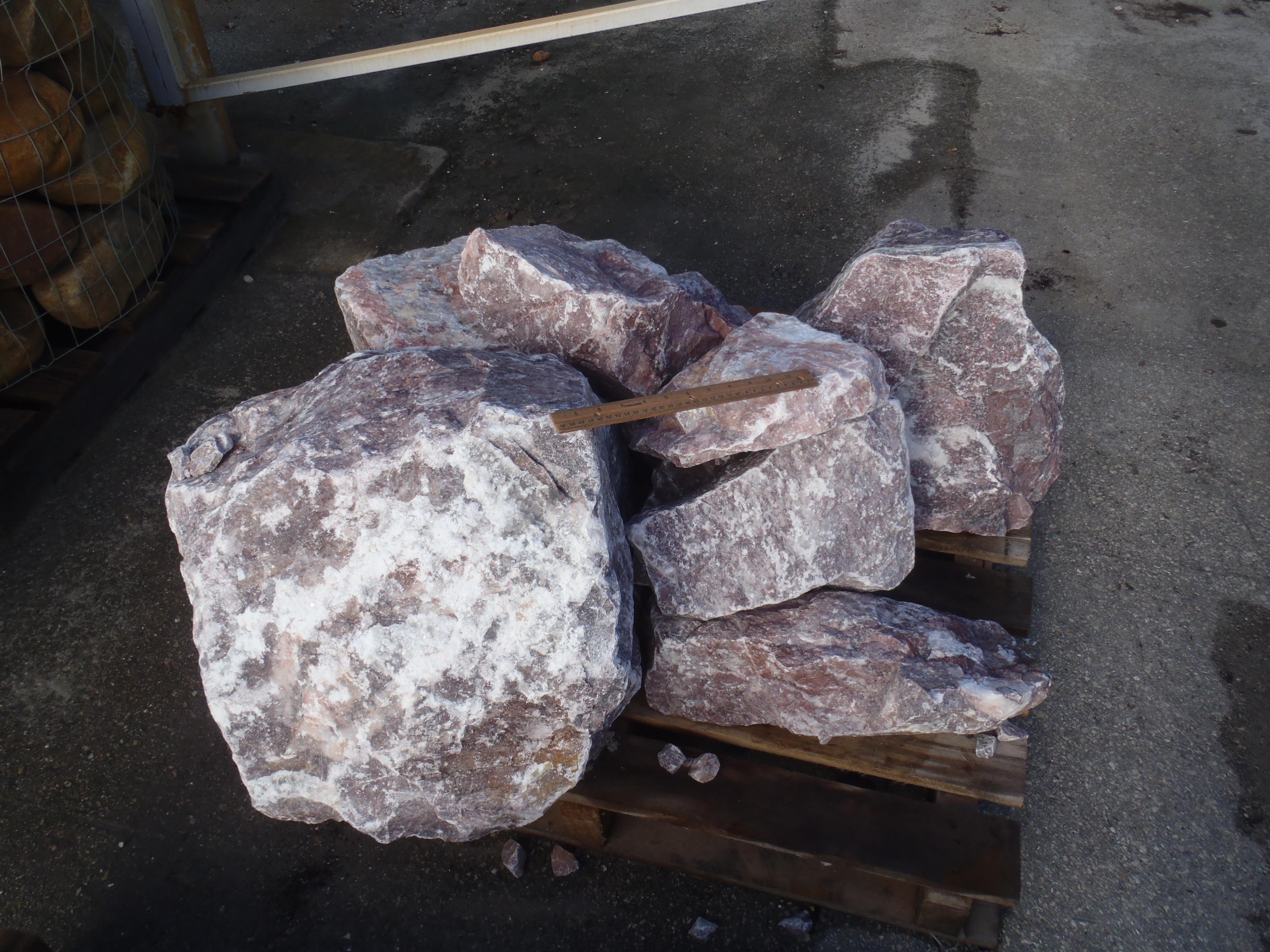 Dixie Pink Boulders Superior Stone Distributors Naples Fl